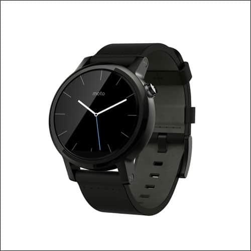 Motorola Moto 360 Best Smartwatch 2016