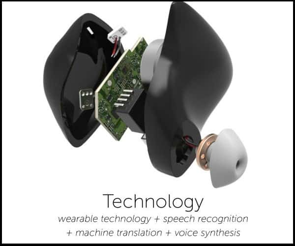 Pilot Smart Language Translator Earpiece Technical Specification