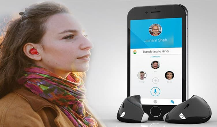 Pilot Smart Language Translator Earpiece