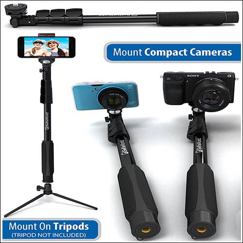 SelfieWorld Selfie Stick for iPhone