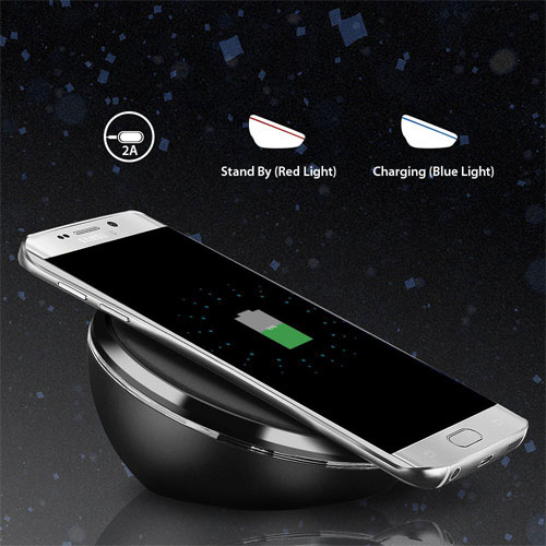 Seneo Best Samsung Galaxy S7 and S7 Edge Wireless Chargers