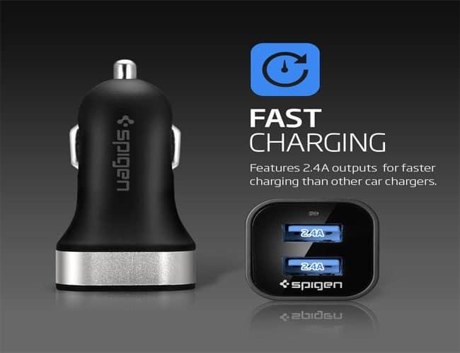 Spigen Best Car Chargers for iPhone