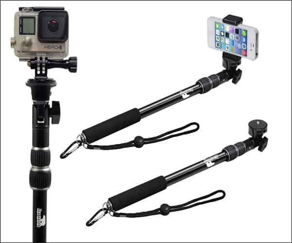 The Alaska Life Monopod Selfie Stick for iPhone