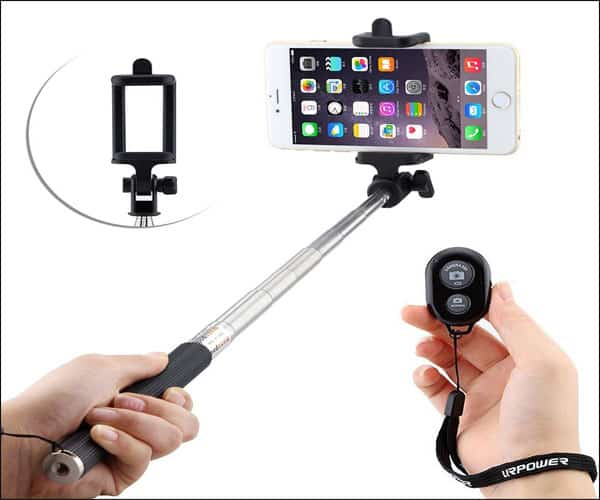 URPOWER Extendable Selfie Stick for iPhone