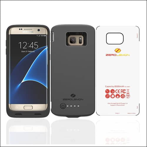 ZeroLemon Battery Case for Galaxy S7 Edge
