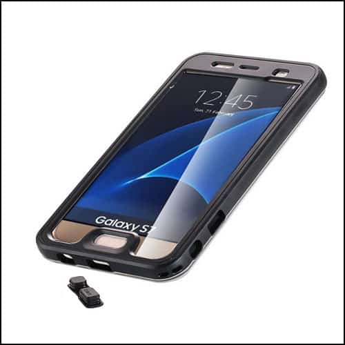AIWOTOWOW Samsung Galaxy S7 Edge Waterproof Cases