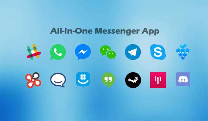 All-in-One Messenger and Franz Use Multiple Chat Clients On Single Screen