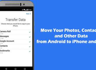 How to Move Your Photos, Contacts, and Other Data from Android to iPhone and iPad
