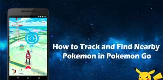 How to track and find nearby Pokemon in Pokemon Go