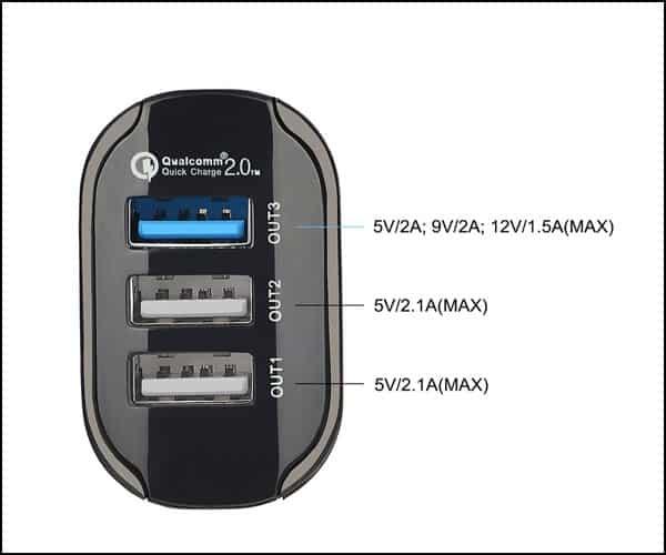 KMASHI Car Charger for Samsung Galaxy S7- S7 Edge