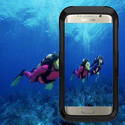 Moonmini Samsung Galaxy S7 Edge Waterproof Cases