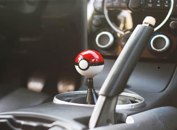 SFVAN Pokemon Pokeball Round Shift Knob