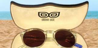 Urban Owl Posh Crystal Clear Sunglasses