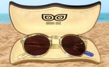 Urban Owl Posh Crystal Clear Sunglasses