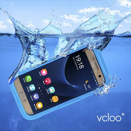 Vcloo Samsung Galaxy S7 Edge Waterproof Cases