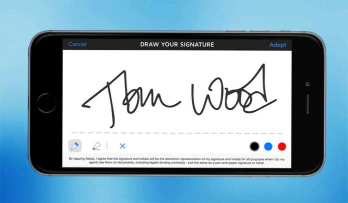 Best digital signing apps for iPhone and Android