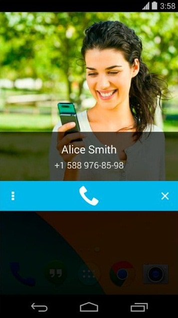 Confirm your call