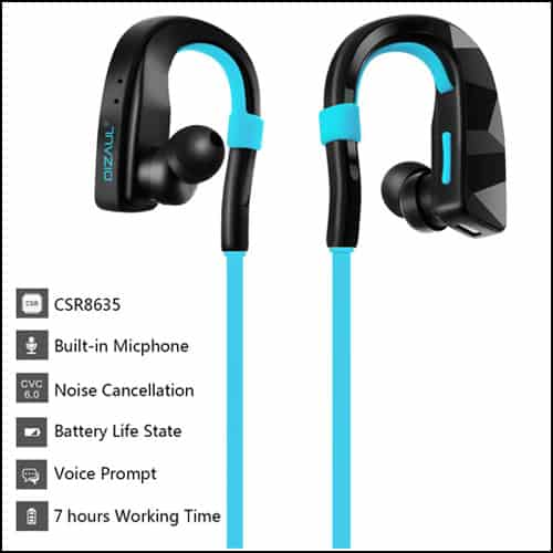Dizaul Sport Stereo Bluetooth Headphones