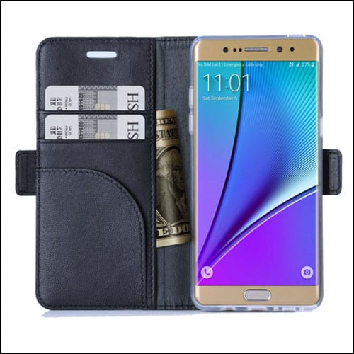 FYY Samsung Galaxy Note 7 Leather Wallet Cases