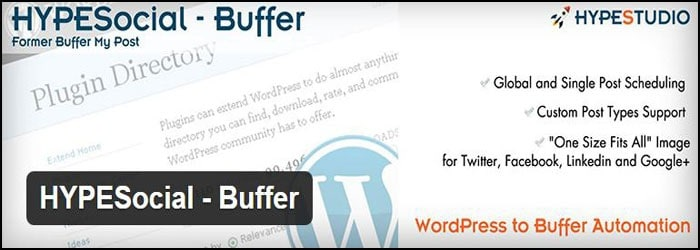 HYPESocial Buffer Pro WordPress Plugin