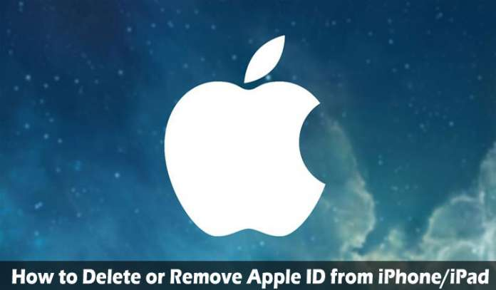 How to Delete or Remove Apple ID from iPhoneiPad