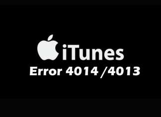 How to Fix iTunes Error 4014 or 4013 and Upgrade Your iPhone Successfully