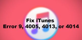 How to Fix iTunes Error 9, 4005, 4013, or 4014 and Upgrade iPhone