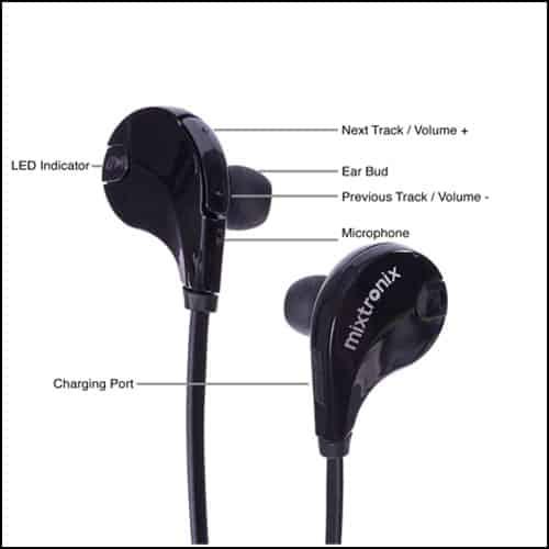 MIXTRONIX Bluetooth Headphones V4.1