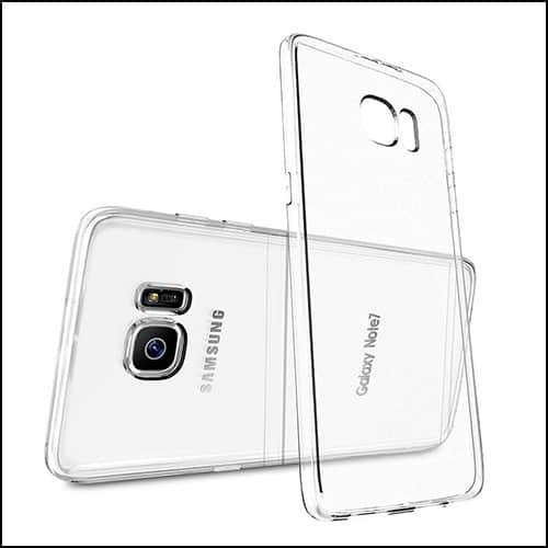 MYRIANN clear cases for Galaxy Note 7