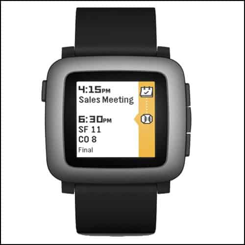 Pebble Android Wear Smartwatch