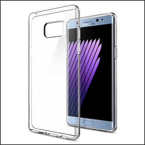 Spigen clear cases for Galaxy Note 7