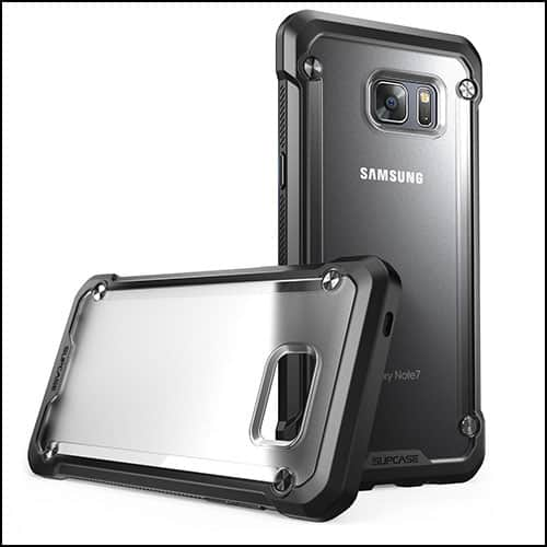 Supcase clear cases for Galaxy Note 7