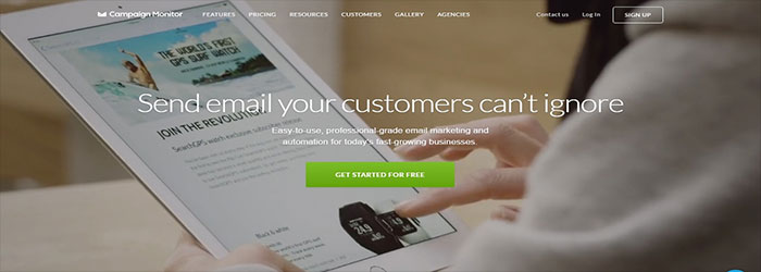 campaignmonitor Email Marketing Tools