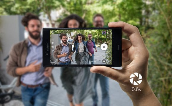 Advance Camera in Sony Xperia X Compact