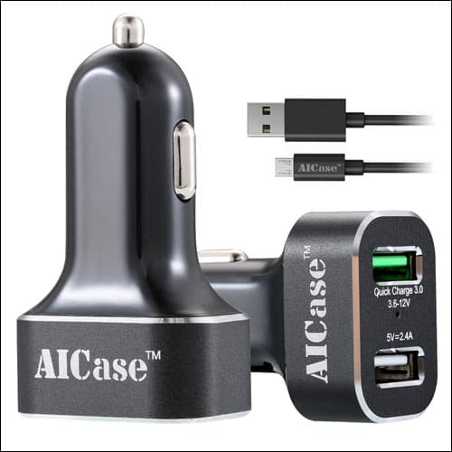 Ai-case iPhone 7 and 7 Plus Car Chargers