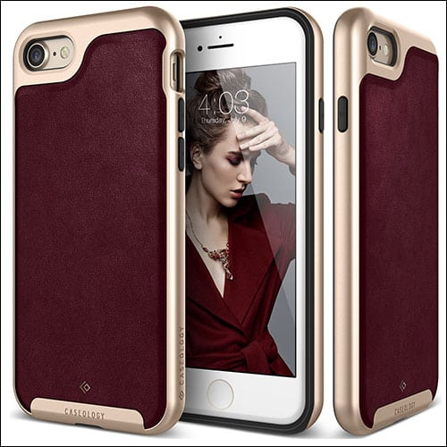 Caseology iPhone 7 Leather Case