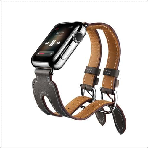 EloBeth Apple Watch Series 2 Leather Band