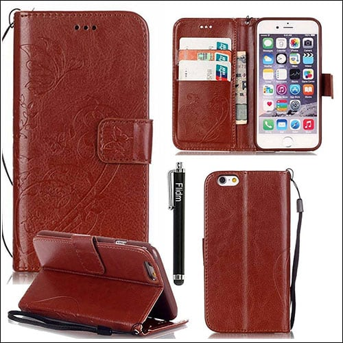 Flidm iPhone 7 Leather Case