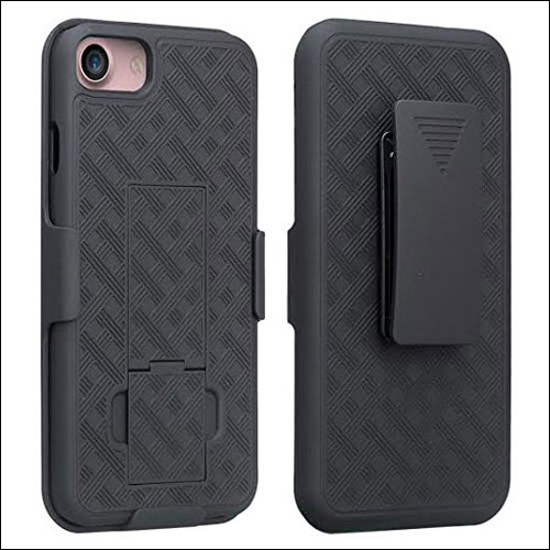 GALAXY WIRELESS iPhone 7 Belt Clip Case