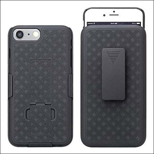 GALAXY WIRELESS iPhone 7 Plus Belt Clip Case