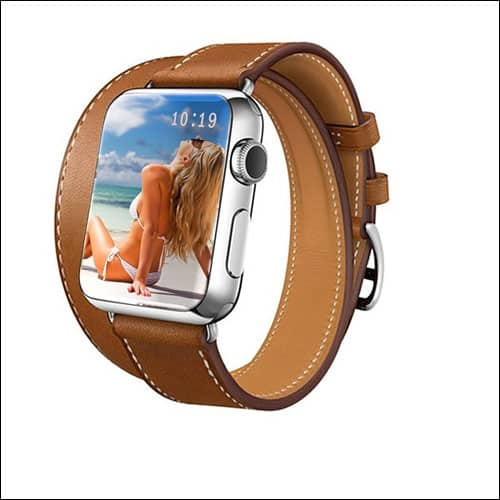 GEOTEL Apple Watch Series 2 Leather Band