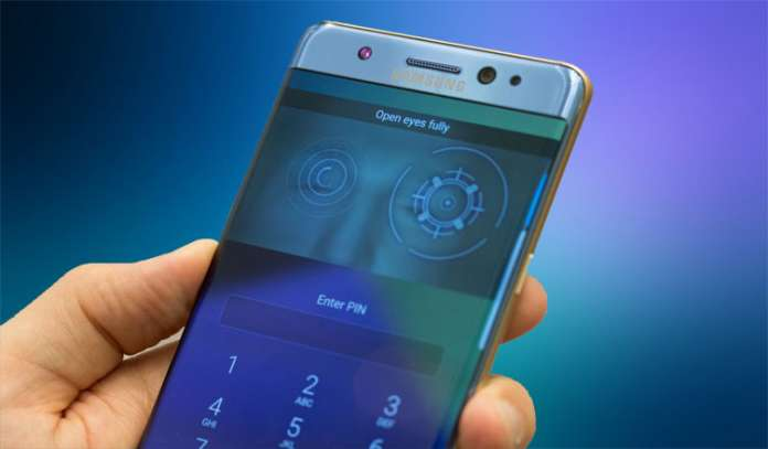 How to Set Up Iris Scanner on Samsung Galaxy Note 7