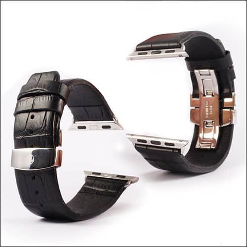 JGOO Apple Watch Series 2 Leather Band