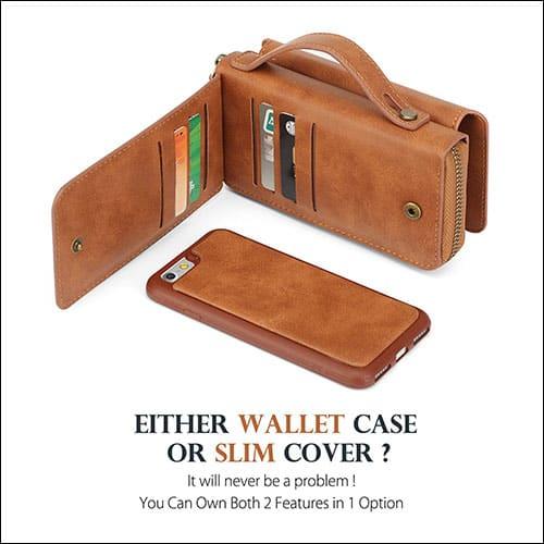 JGOO iPhone 7 Leather Case