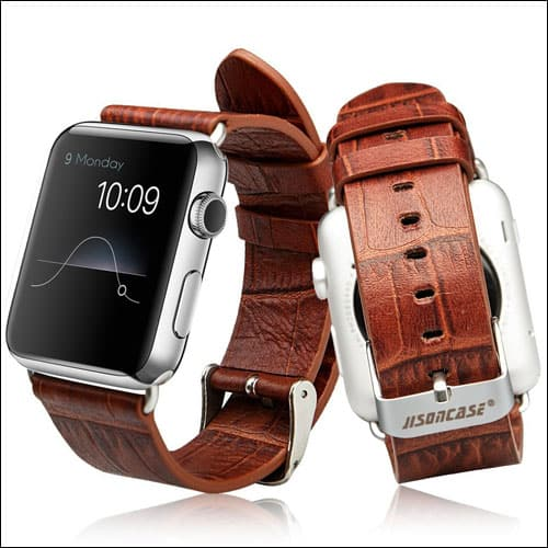 Jisoncase Apple Watch Series 2 Leather Band