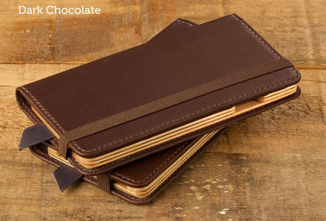 Luxury Pocket Book iPhone 77 Plus Leather Cases from Pad and Quill