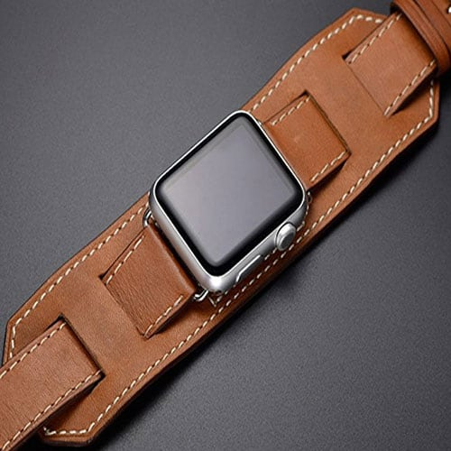 MIFA Apple Watch Series 2 Leather Band