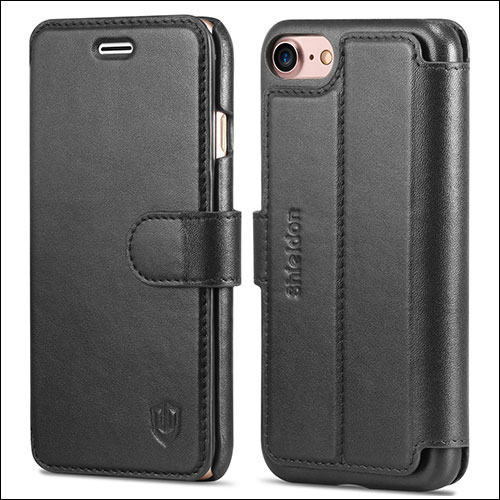 SHIELDON iPhone 7 Wallet Cases