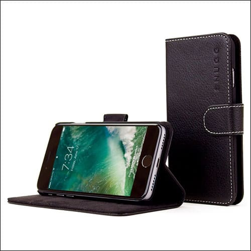 Snugg iPhone 7 Leather Case