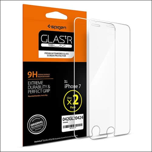 Spigen iPhone 7 Plus Tempered Glass Screen Protector